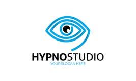 Hypno studia logo Obrazy Stock