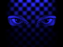 Hypnosis. Eyes Stock Images