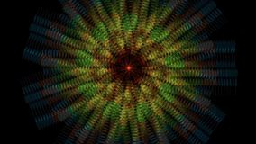 Hypnosis abstract flowing movements royalty free illustration