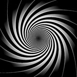 Hypnosis black and white background Stock Photography