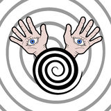 Hypnosis icon Stock Image