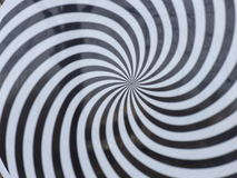 Hypnosis Spiral. Design Pattern. Concept for hypnosis Royalty Free Stock Image