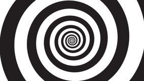 Hypnosis visualisation spiral stock video