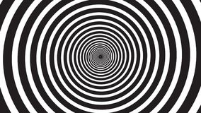 Hypnosis visualisation spiral stock video footage