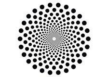 Hypnotic Bewegingseffect Achtergrondpatroontextuur royalty-vrije illustratie