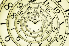 Free Hypnotic Clock Royalty Free Stock Photo - 34533235
