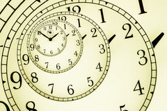 Hypnotic Clock Stock Photos