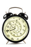 Hypnotic Clock Stock Photography
