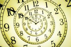 Hypnotic Clock Stock Image
