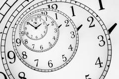 Hypnotic Clock Stock Images