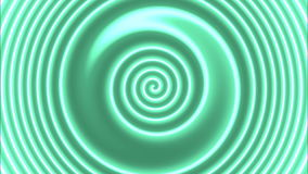 Hypnotic colorspiral stock video