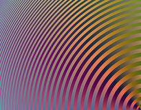 Hypnotic curves. Digital  background - fractal Hypnotic curves Stock Photos
