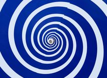 Hypnotic draaikolk royalty-vrije stock afbeelding