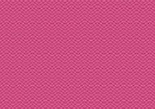 Hypnotic effective pink and white lines. It can use as  background and texture. Sequential ongoing lines Stock Images