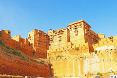 Hypnotic Jaisalmer golden fort,rajasthan, india Royalty Free Stock Photography