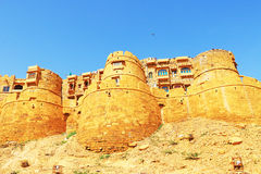 Hypnotic Jaisalmer golden fort ,rajasthan, india Stock Photography