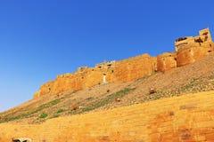 Hypnotic Jaisalmer golden fort,rajasthan, india Royalty Free Stock Photos