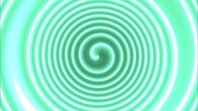 Hypnotic kleurenspiraal stock videobeelden