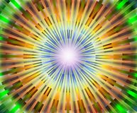 Hypnotic multicolored abstract background Royalty Free Stock Photos