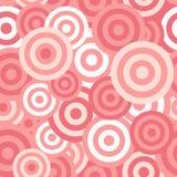 Hypnotic Naadloze Patroonachtergrond. Vector Stock Afbeelding