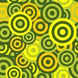 Hypnotic Naadloze Patroonachtergrond. Vector Royalty-vrije Stock Afbeeldingen