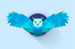 Hypnotic owl Stock Images