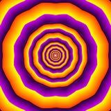 Hypnotic polygones Royalty-vrije Stock Fotografie
