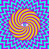 Hypnotic poster Royalty Free Stock Photos