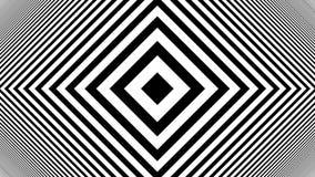 Hypnotic Rhythmic Movement Black And White stripes Stock Photo