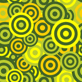 Hypnotic Seamless Pattern Background. Vector Royalty Free Stock Images