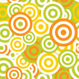 Hypnotic Seamless Pattern Background. Vector Stock Image