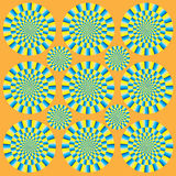 Hypnotic show of rotation Stock Photos