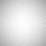 Hypnotic Spiral Abstract Background. Retro Style. Black And White Royalty Free Stock Photos