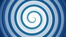 Hypnotic spiral stock video footage