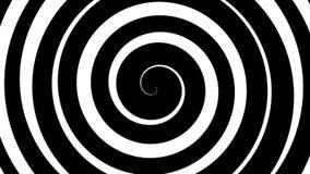Hypnotic spiral stock footage