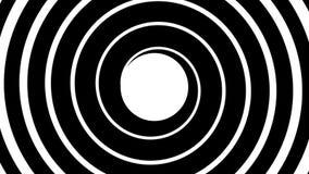 Hypnotic spiral stock video