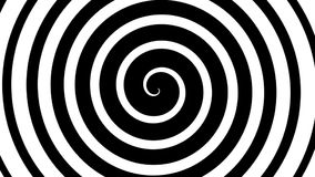 Hypnotic spiral stock video footage