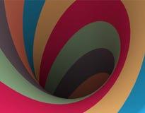 Hypnotic Spiral Stock Photo