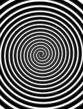 Hypnotic Swirl. Abstract background for graphic design or PowerPoint presentations Royalty Free Stock Image