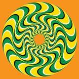 Hypnotic Swirly-Gebied Royalty-vrije Stock Afbeeldingen