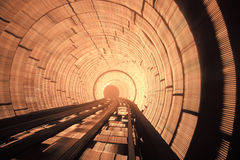 Hypnotic tunnel Royalty Free Stock Image
