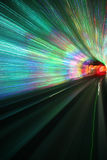 Hypnotic tunnel Stock Images