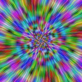 Hypnotic vibrant colors. Computer generated abstract background Royalty Free Stock Photos
