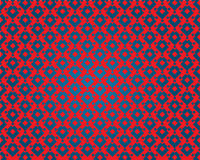 Hypnotic wallpaper. Wallpaper hypnotic mad freak fallacy pattern decor decoration decorated decore print blue red design graphic ornament vector Royalty Free Stock Photos