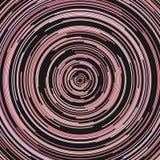 Hypnotische abstrakte Kreislinie Musterhintergrund Stockfotos