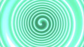 Hypnotische Farbspirale stock video footage