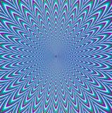 Hypnotische Pfau-Hintergründe Lizenzfreie Stockbilder