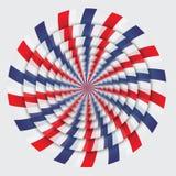 Hypnotische Spiralen Stockbilder