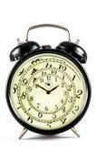 Hypnotische Uhr Lizenzfreies Stockbild