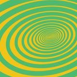 Hypnotische volumetrische Spirale Stockfotografie